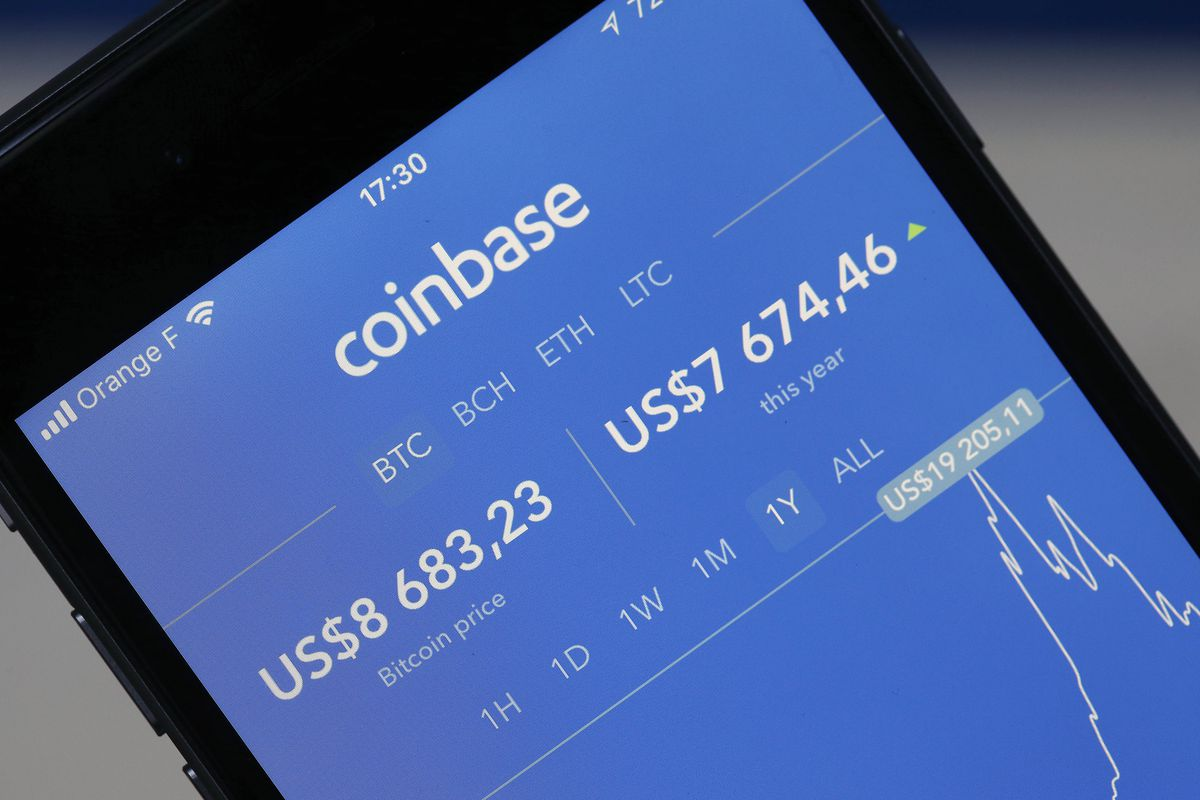 Coinbase goes offline