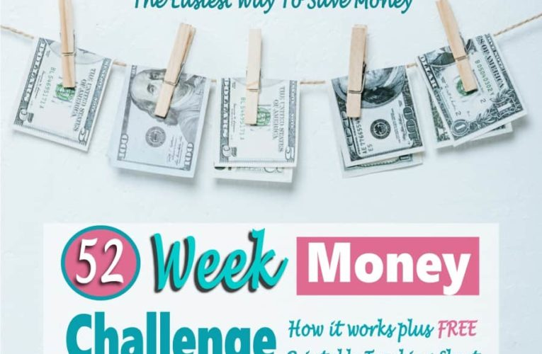 A 52-week money challenge can help you save almost $1,500 in a year
